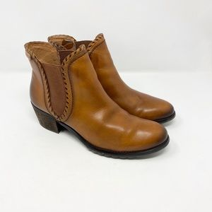 PIKOLINOS Ardorra Brown Leather Ankle Booties 11